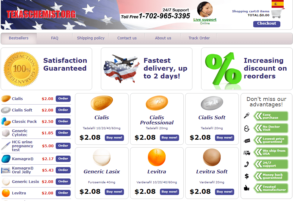 Online Drug Store - Buy Effective Medications at Affordable Prices