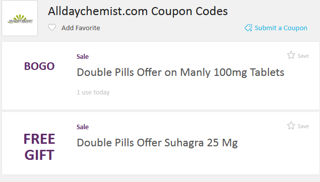 Photo of Alldaychemist coupons