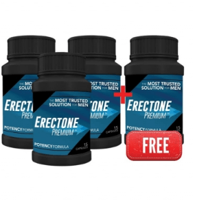 Buy 3 bottles of Erectone Premium get 1 free bottle offer