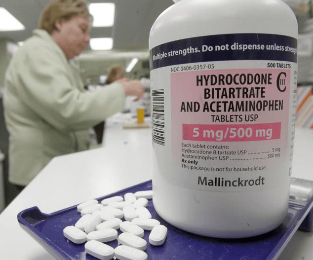 Sample of a Prescription Pain Pill