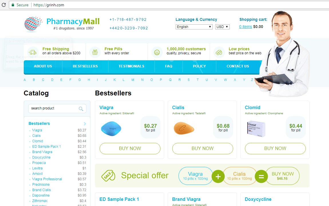 Grinh – Secure and Legitimate Pharmacy Site