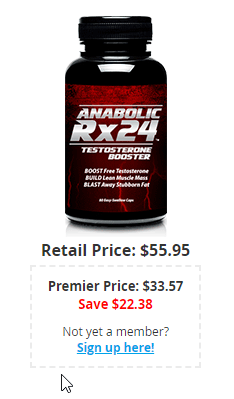 Anabolic Rx24 Price