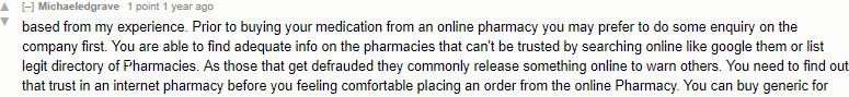 Buying Drugs Online Reddit