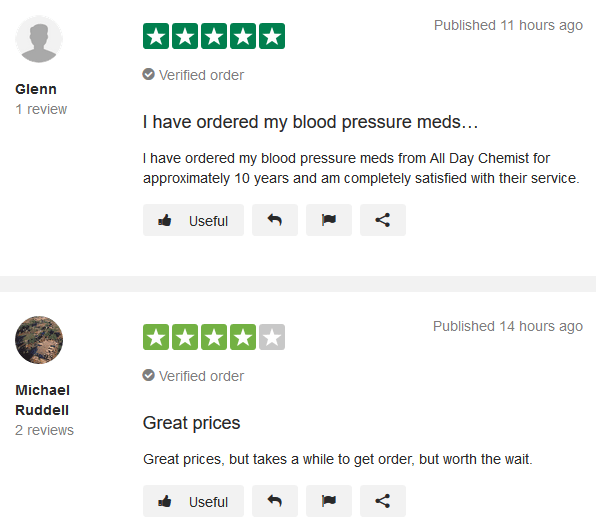 All Day Chemist Customer Reviews