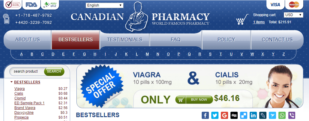 Copy of 333 Online Pharmacies Canada Reviews
